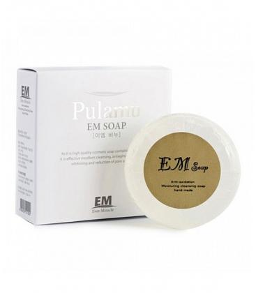 Прозрачное антиоксидантное мыло ручной работы Pulamu Transparent Soap Evome