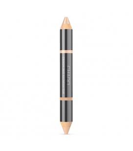 Chado Двойной подсвечивающий карандаш для бровей и век - naturel 384