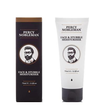 Увлажняющее средство для лица и бороды Face and Stubble Moisturiser Percy Nobleman