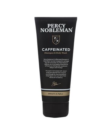 Шампунь Кофеиновый Caffeinated Shampoo & Body Wash Percy Nobleman