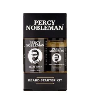 Percy Nobleman Пробный набор для бороды Beard Starter Kit