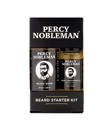 Пробный набор для бороды Beard Starter Kit Percy Nobleman