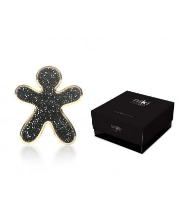 Ароматизатор для авто Niki Crystal Black with Gold (черный с золотом) Mr&Mrs Fragrance