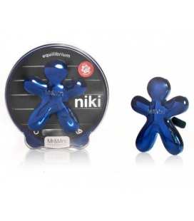 Mr&Mrs Fragrance Ароматизатор для авто Niki EQUILIBRIUM (цвет синий)