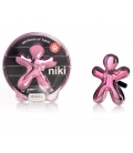 Ароматизатор для авто Niki GARDENIA OF TAHITI / Гардения Таити (цвет розовый)