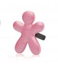Ароматизатор для авто Niki SILKY ROSE / Шелковистая роза (цвет сверкающий розовый) Mr&Mrs Fragrance