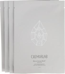 """Cremolab Лифтинг-маска """"3Д обновление"""", из биоцеллюлозы, 4 шт"""