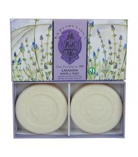 Набор мыла Lavender / Лаванда 2х115 г La Florentina