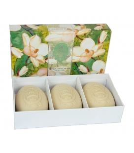 Набор мыла Fresh Magnolia / Свежая магнолия 3х150 г La Florentina