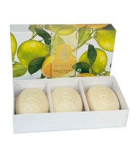 Набор мыла Citrus / Цитрус 3х150 г La Florentina