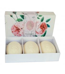 Набор мыла Rose of May / Майская роза 3х150 г La Florentina