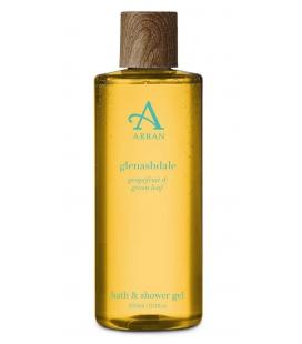 Arran Гель для душа и ванны GLENAHDALE grapefruit&green leaf